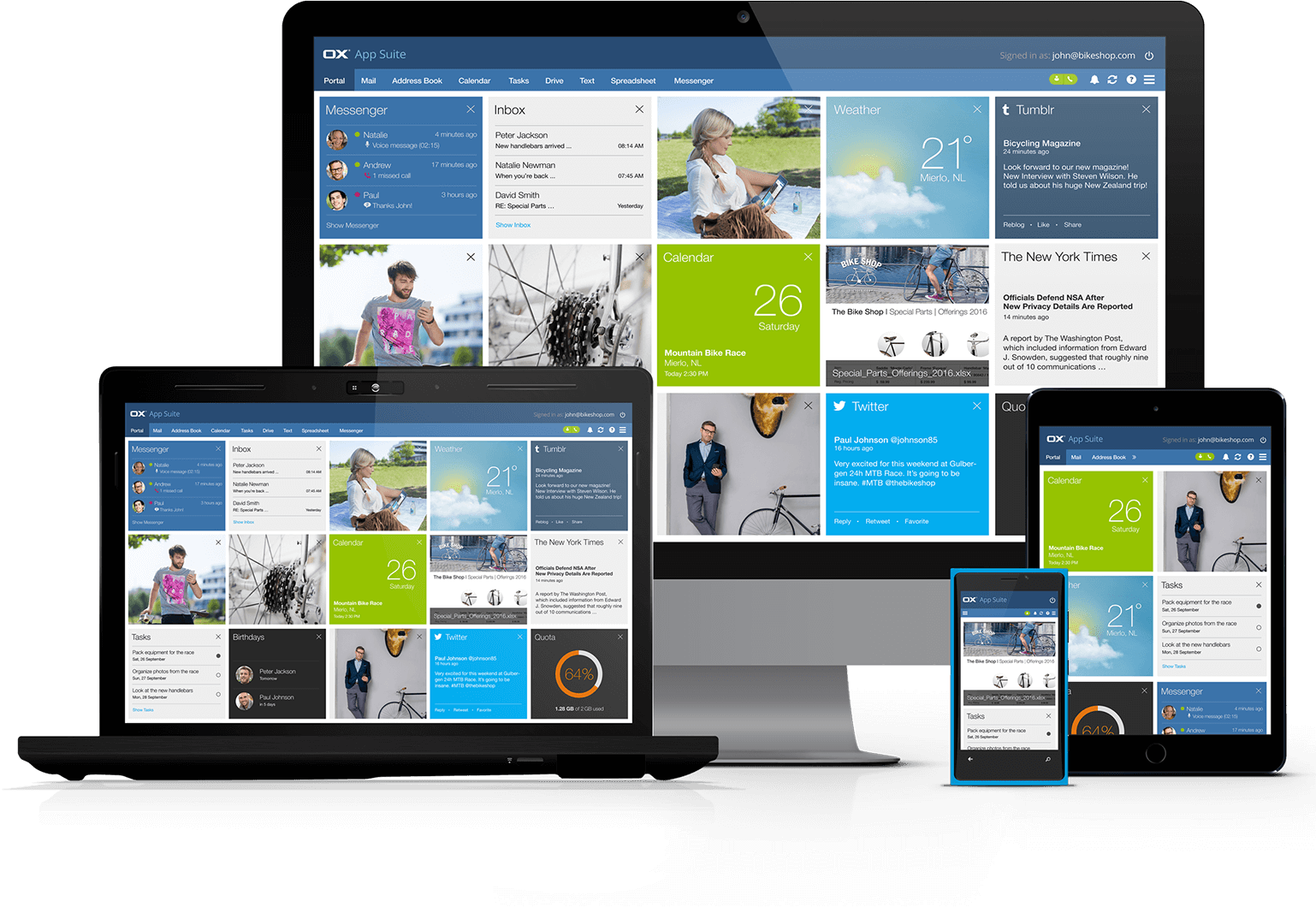 Enterprise Email - Communication & Collaboration made easy by BigRock in